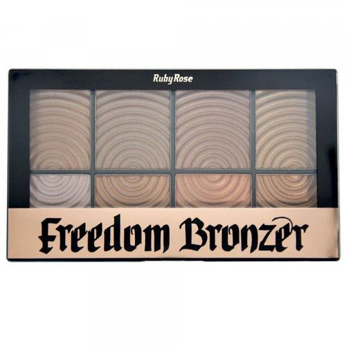 Paleta Bronzer Freedom Ruby Rose Hb-7216
