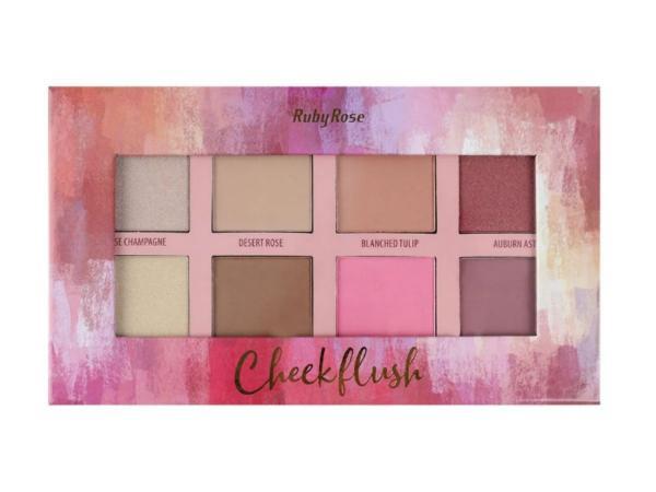 Paleta Cheek Flush - Ruby Rose - HB7507