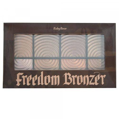 Paleta de Bronzer Freedom 7216-ruby Rose