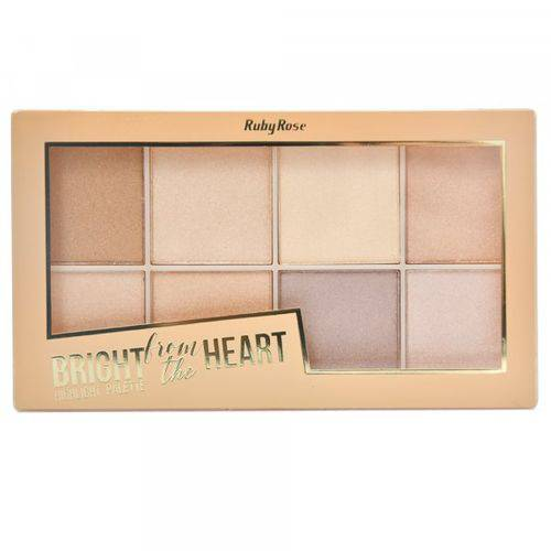 Tudo sobre 'Paleta de Iluminador Bright From The Heart'