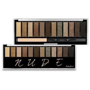 Paleta de Sombras com Primer Nude Hb
