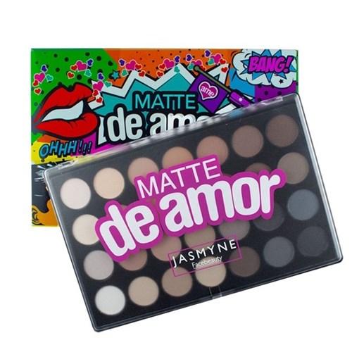Paleta de Sombras Matte de Amor Jasmyne V1027
