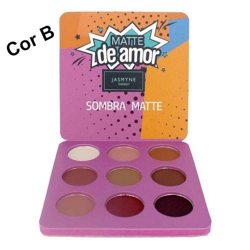Paleta de Sombras Matte de Amor Jasmyne - V6029