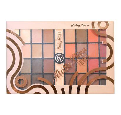 Paleta de Sombras Matte Diva Eyes HB-9974 - Ruby Rose