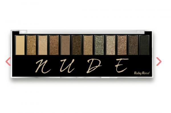 Paleta de Sombras Nude HB 9911 - Ruby Rose