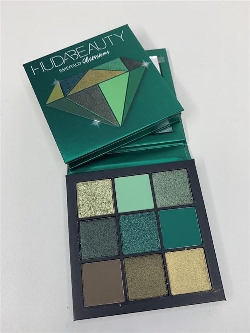Paleta Huda Beauty Emerald Obsessions
