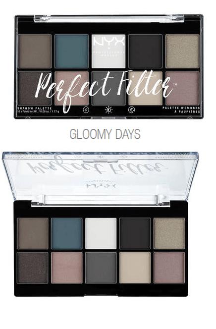 Paleta Nyx Perfect Filter Gloomy Days