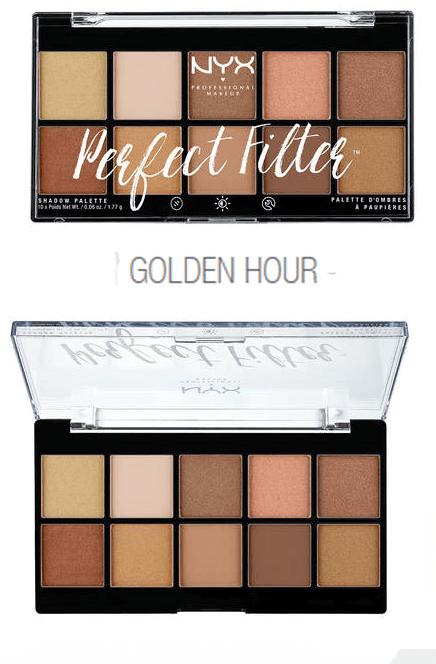 Paleta Nyx Perfect Filter Golden Hour