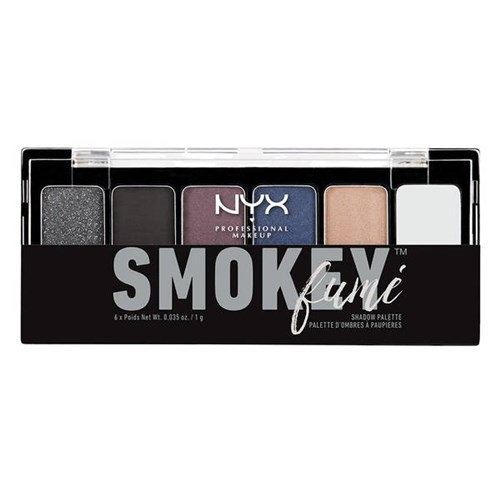 Paleta Nyx Smokey Shadow