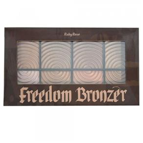 Paleta Ruby Rose Bronzer Freedom - HB-7216