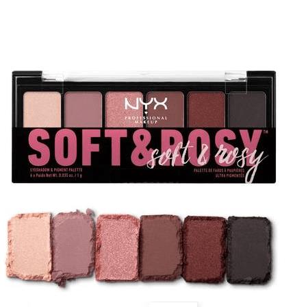 Paleta Soft & Rosy Eyeshadow Nyx