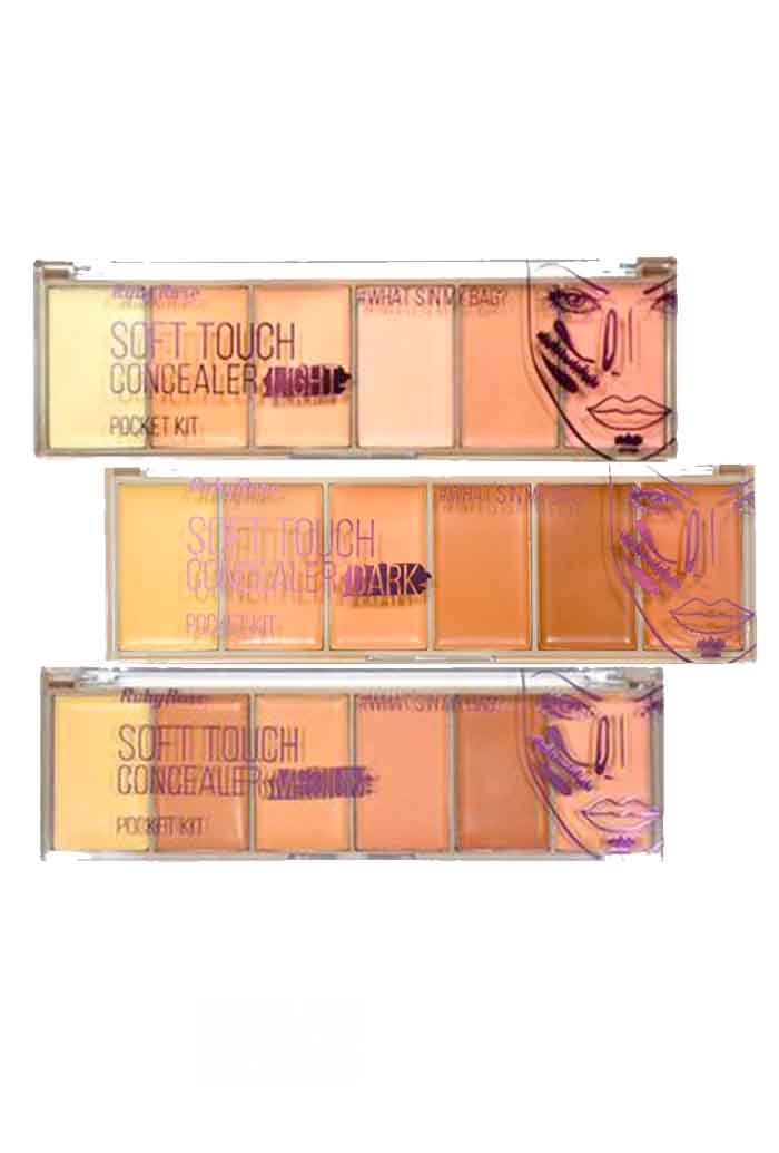 Paleta Soft Touch Concealer Ruby Rose - 7190