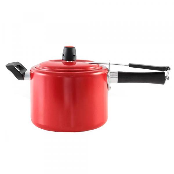 Panela de Pressão 4,5 Litros Chilli Vermelho - Brinox