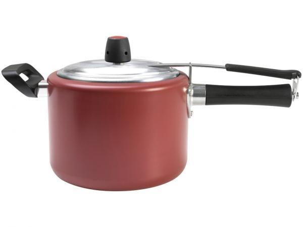 Panela de Pressão Brinox Chilli 7011/193 - Alumínio 7,5L Vermelho