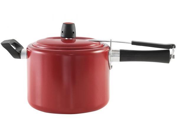 Panela de Pressão Brinox Chilli - Alumínio 4,5L Vermelho