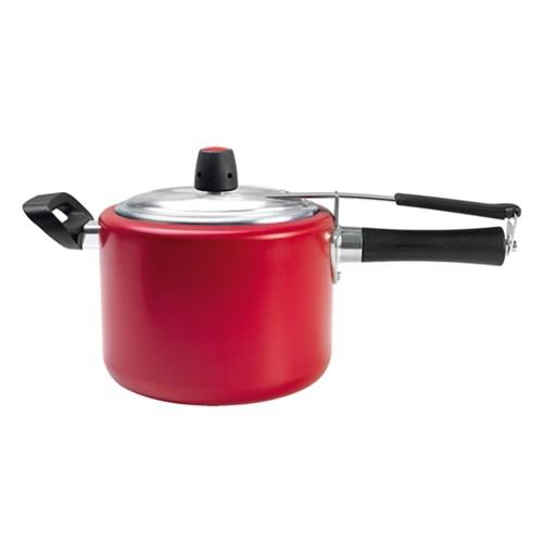 Panela de Pressão Chilli 4,5L Vermelho 7011-168 Brinox