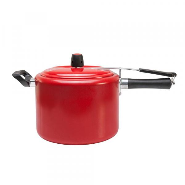 Panela de Pressão Chilli 7,5 L Vermelha - Brinox