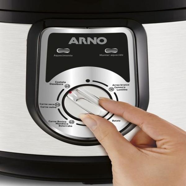 Panela de Pressão Elétrica Arno PP01 110V