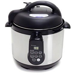 Tudo sobre 'Panela de Pressão Elétrica Fun Kitchen Inox 4L com 2 Anos de Garantia'