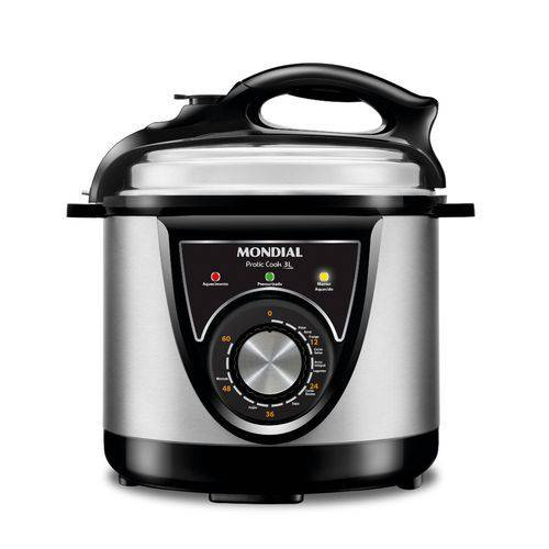 Tudo sobre 'Panela Elétrica de Pressão 3 Litros Mondial Pratic Cook'