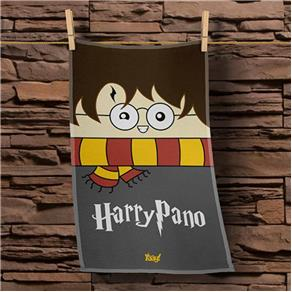 Pano de Prato Harry Potter - CINZA