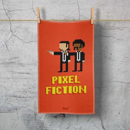 Pano de Prato Pixel Fiction
