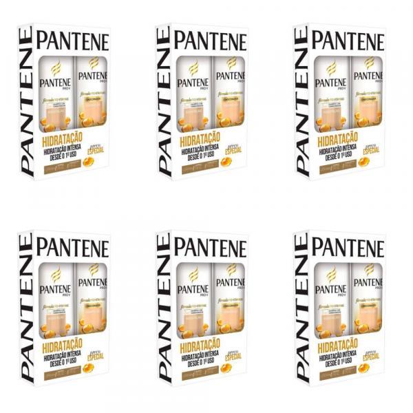 Pantene Hidratação Shampoo + Condicionador 175ml (Kit C/06)