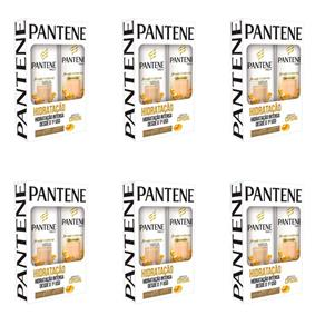 Pantene Hidratação Shampoo + Condicionador 175ml - Kit com 06