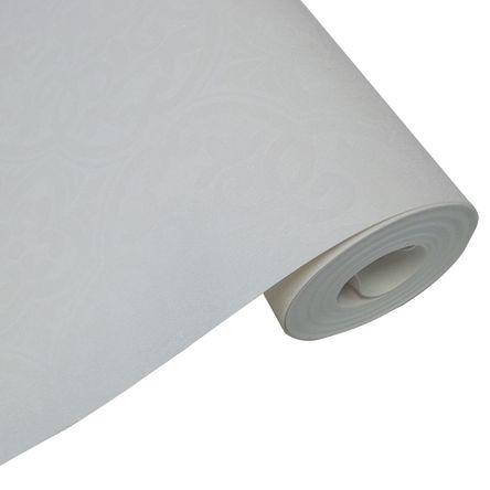 Papel de Parede - 9,50mX53cm - Branco Floral