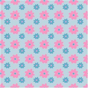 Papel de Parede Adesivo - Flores 300 X 59cm