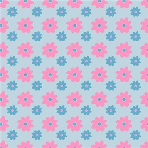 Papel de Parede Adesivo - Flores 3,00M X 59Cm