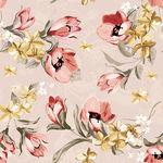Papel de Parede Adesivo - Flores Românticas - N0051