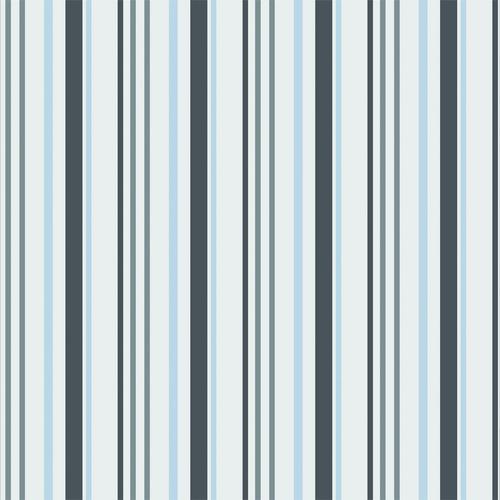 Papel de Parede Adesivo Listras, Azul, Cinza, e Branco