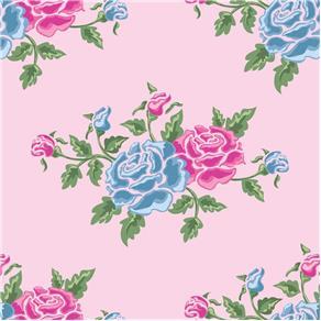 Papel de Parede Adesivo - Rosas - Flores - N0908