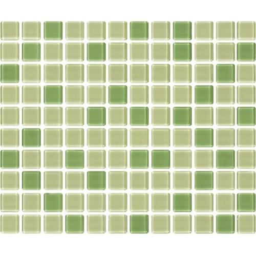 Papel de Parede Auto Adesivo Lavável Pastilha Verde