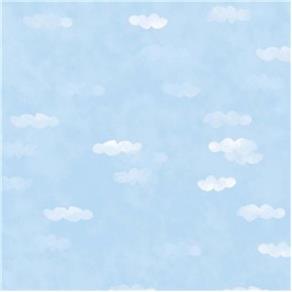 Papel de Parede Cuentos Céu Azul 53x1000cm Muresco