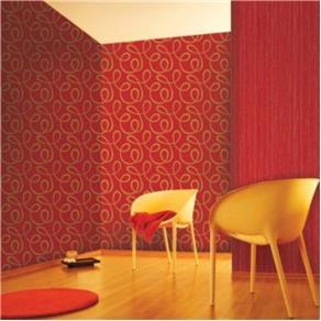 Papel de Parede Galia Vermelho 52x1000cm Muresco