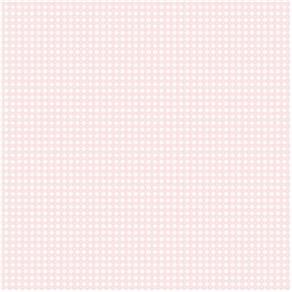 Papel de Parede Infantário Xadrez Rosa Claro 1745 10Mts