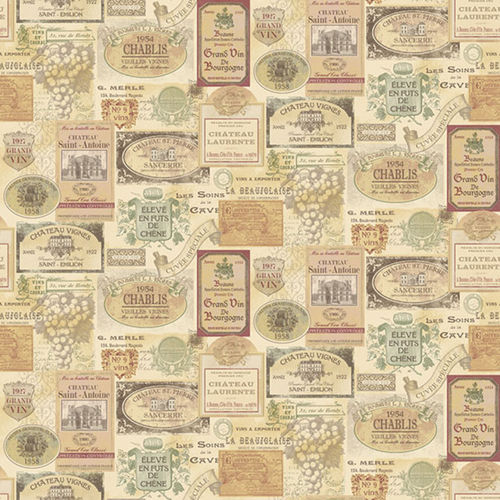 Papel de Parede KITCHEN RECIPES G12281