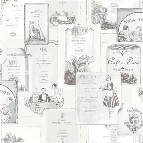 Papel de Parede Kitchen Recipes G12286 Kitchen Recipes G12286