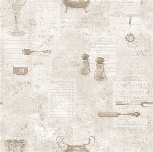 Papel de Parede Kitchen Recipes G12291 Kitchen Recipes G12291