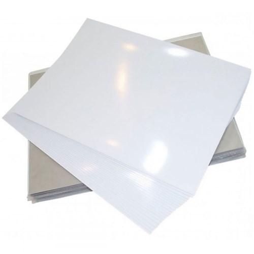 Papel Fotográfico 120G A4 Glossy Branco Brilhante 20 Folhas