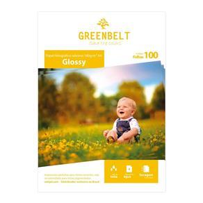 Papel Fotográfico Adesivo Glossy 180g Greenbelt A4 100 Folhas