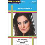 Papel Fotografico Inkjet A4 Glossy 180G Pct.C/20 Masterprint