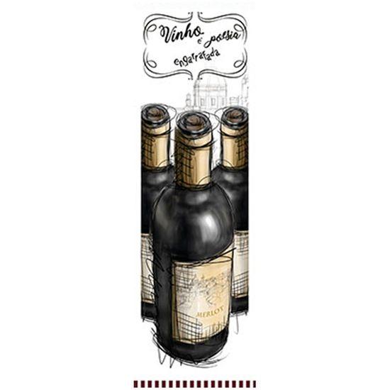 Tudo sobre 'Papel para Arte Francesa Litoarte 10x32,8 AFVP-011 Garrafas de Vinho'