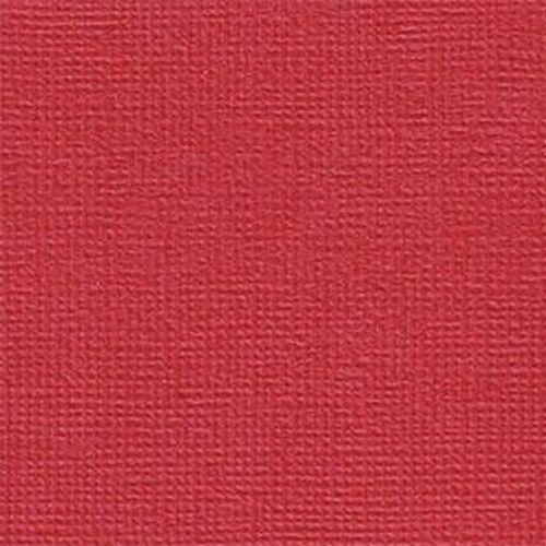 Papel Scrapbook Cardstock PCAR020 Vermelho Escarlate