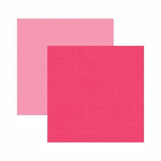 Tudo sobre 'Papel Scrapbook Toke e Crie 30,5x30,5 KFSB553 Pink Liso'