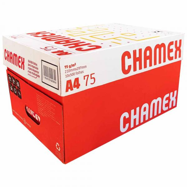 Papel Sulfite A4 Chamex Office 5000 Folhas