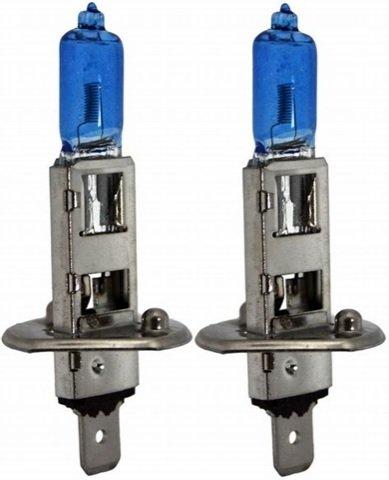 Par Lampada Super Branca H1 8500K 12V 55W