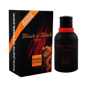 Paris Elysees Black Is Black Masculino